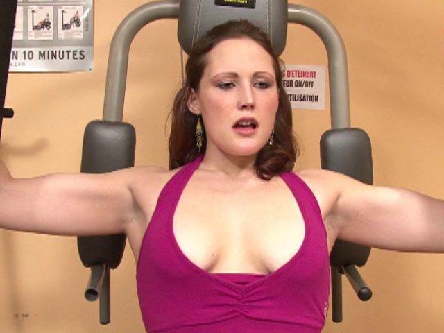 le style de salope que l'on rencontre dans les salles de musculation